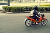 Tsinelas (J Antonio Villalon) Tags: bike nikon driving traffic helmet manila motorcycle 24 28 nikkor antonio 70 slippers tsinelas villalon d3s