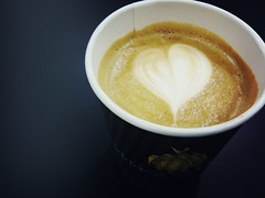 Flat White with Ethiopian Sidamo espresso base, Tea & Coffee World Cup Singapore 2011