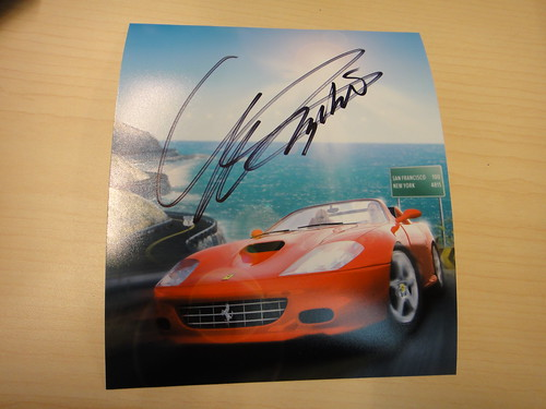 OutRun Art - Signed by Yu Suzuki