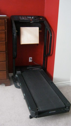 Treadmill Desk - Folded Down