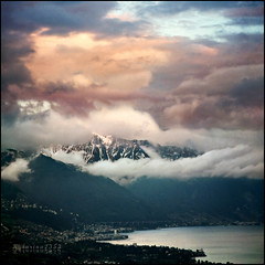 Where the heaven begins...?:))) (Katarina 2353) Tags: city sky mist lake mountains alps film nature water rain clouds landscape photography schweiz switzerland spring high nikon europe suisse image swiss daughter may lac atmosphere paisaje cielo to peaks paysage priroda dearest masha montreux lacleman lakeofgeneva tájkép pejzaž katarinastefanovic katarina2353 doublyniceshot gettylicense mountainrangesystems
