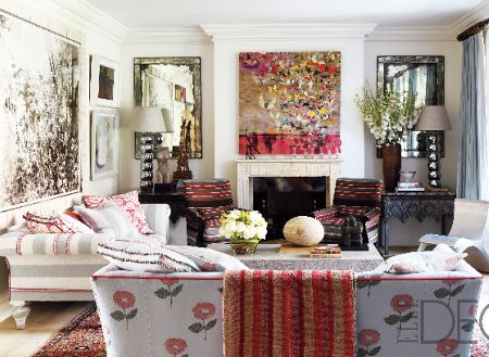 Elle Decor London Townhouse