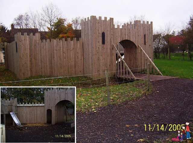 Castle Play Area at Bunratty Castle and Folk Park, Ireland