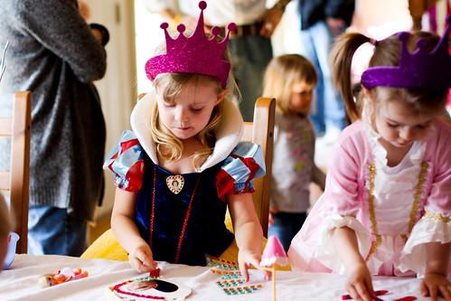 Maggie's Snow White Birthday Party