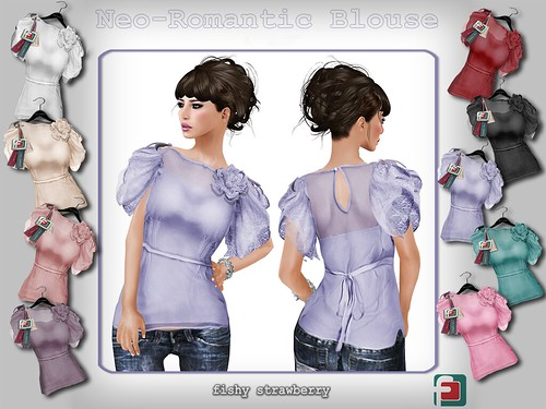 Neo-Romantic Blouse