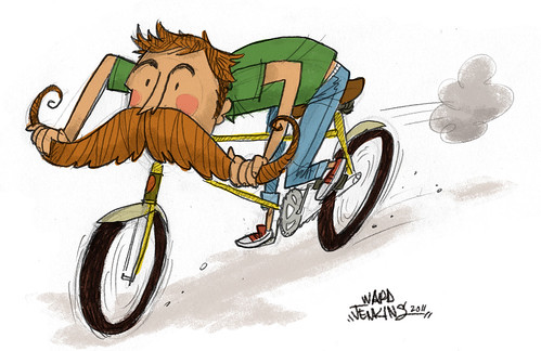 Mr. Handlebar Mustache