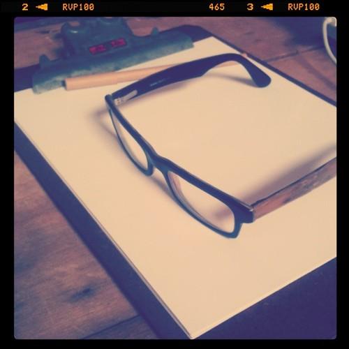 Hubby's specs