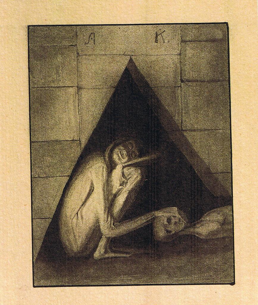 Alfred Kubin -Gedenke des langen Schweigens