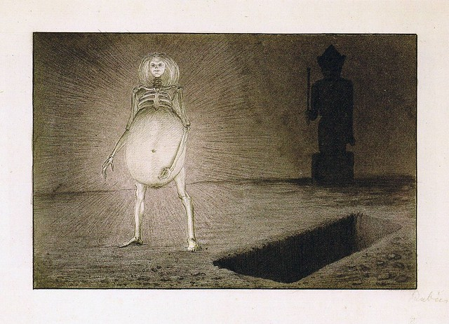 Alfred Kubin - The Egg,1901-02