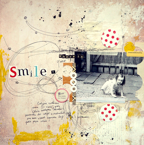 Where is your smile ?