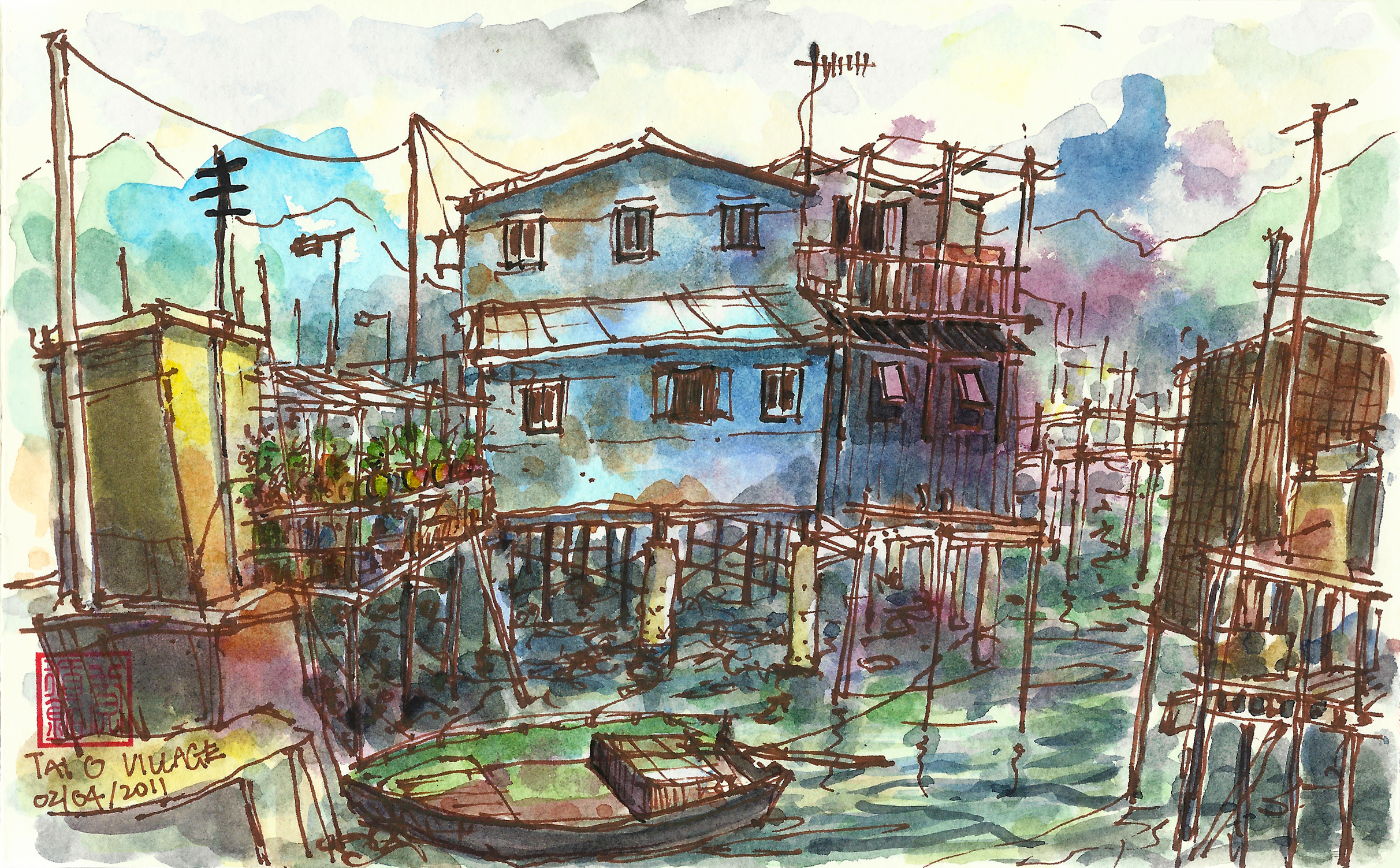 Stilt Houses @ Tai O fishing Village