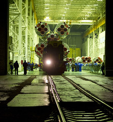 Expedition 27 Soyuz Rollout (201104020002HQ) (explored)