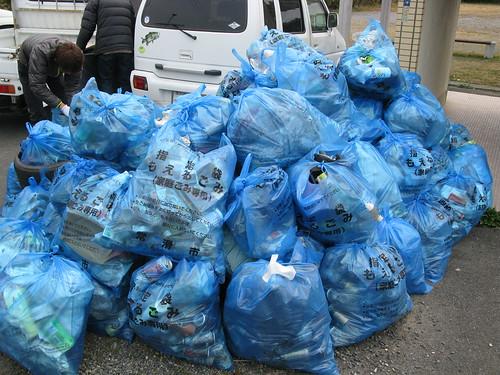 ゴミ清掃9