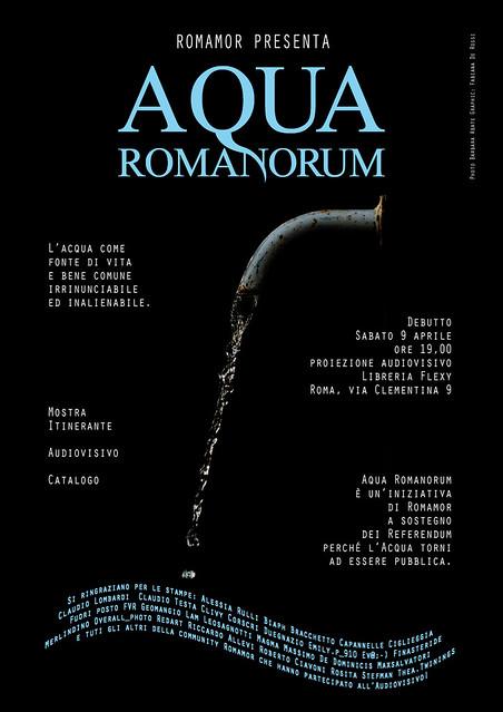 15 Aprile - Mostra Aqua Romanorum ad Agricoltura Nuova