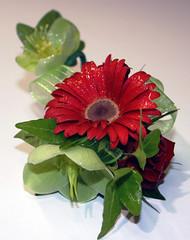 Flower Wristlet