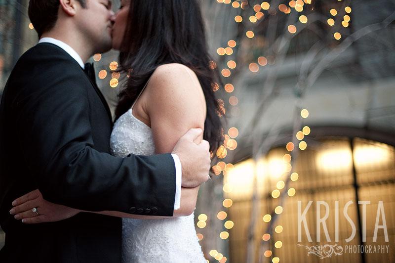 Winter Wedding in Beacon Hill