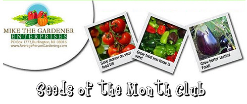 Mother's Day Gift Guide: Seeds of the Month Club Giveaway