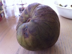 Cherimoya outside