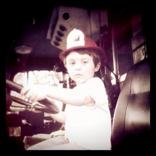 Taylor serious fireman