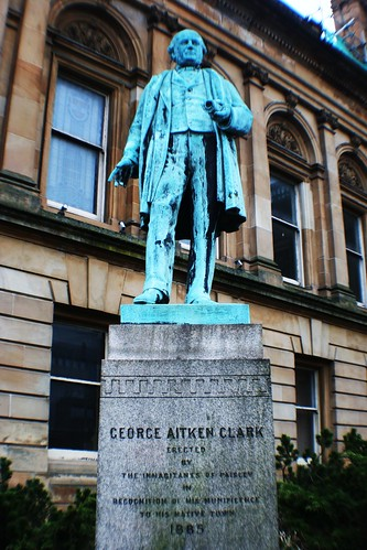George Aitken Clark Statue, Paisley