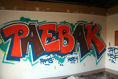 PAEBAK (Hahn Conkers) Tags: columbus ohio graffiti paebak