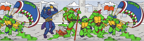"Design Edge :: ""Teenage Mutant Ninja Turtles"" WALL BORDER ii (( 1990 ))"