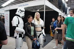 Supanova 2011 Melbourne - Star Wars - Storm trouper and HOT storm trouperJPG