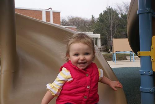 Having fun at the park!