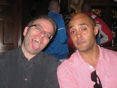 More Chris and John (hatapota) Tags: leavingdrinks chrispaton craichouse ncvoit
