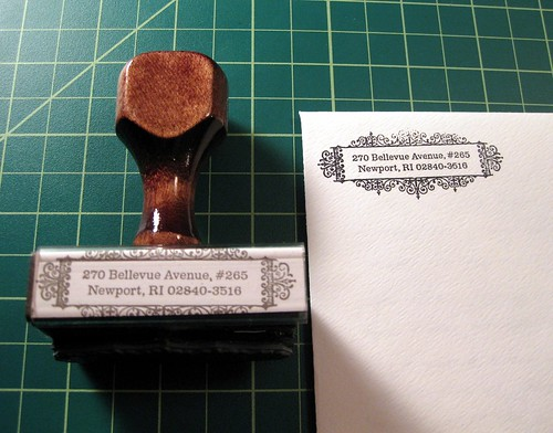 Return address stamp 4