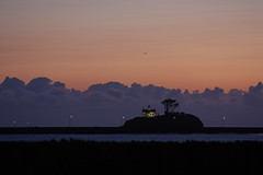 Sunset at Battery Point (The Bacher Family) Tags: sunset lighthouse clouds purple crescentcity therebeastormabrewin thelightisall