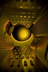 Abstract grater (- Hob -) Tags: longexposure lightpainting abstract reflection spiral raw led possible cheesegrater v24 lapp singleexposure 光绘 lightjunkies 光の絵画 lightartperformancephotography wwwfacebookcompageslightpaintingorguk517424921642831