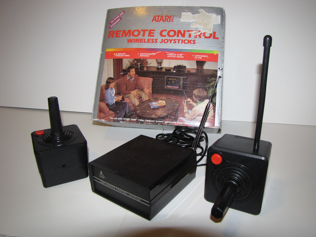 Atari 2600 Wireless Joysticks