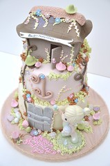 Fairy Cake (thecakemamas) Tags: cake birthdaycake preciousmoments fairycake childrenscake kidscake girlscake preciousmomentscake