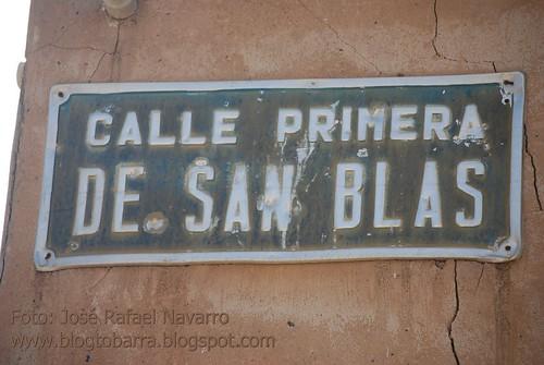Placas - Calle Primera de San Blas