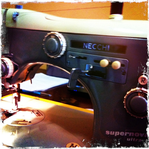 This sewing machine is probably older than me. Day 141/365.