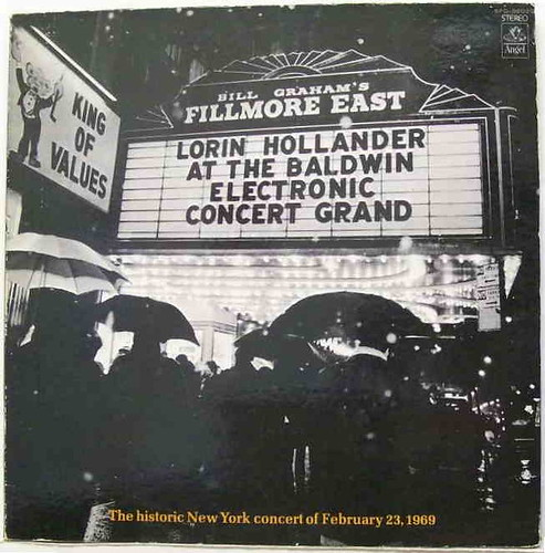 Lorin Hollander Live At The Fillmore East (LP)
