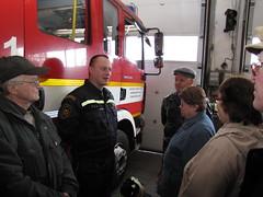 Exkurze na hasičskou záchrannou stanici Brno - Lidická, 22. 3. 2011