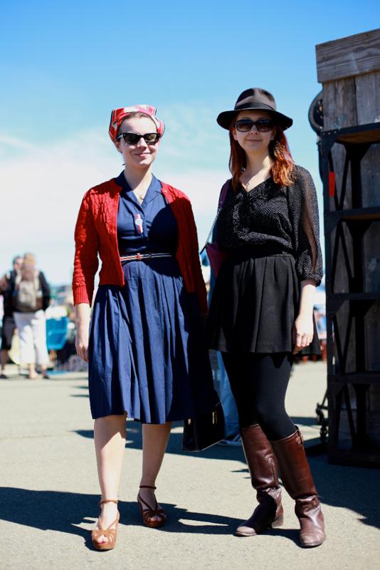 chelseaandfriend - alameda flea market street fashion style
