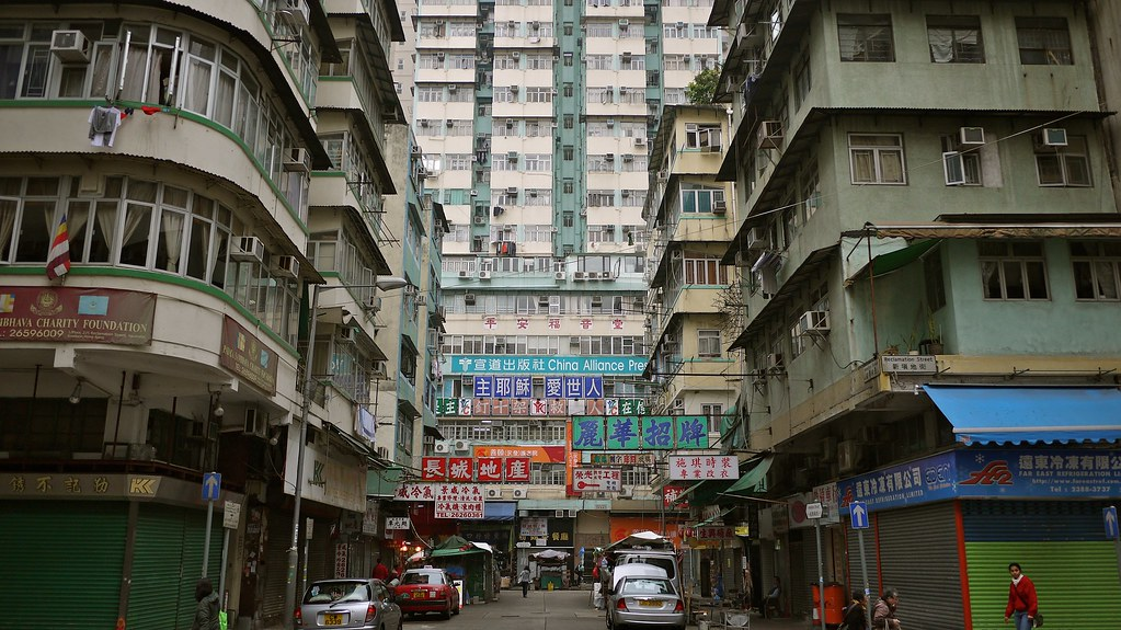 Block Apartments in HK