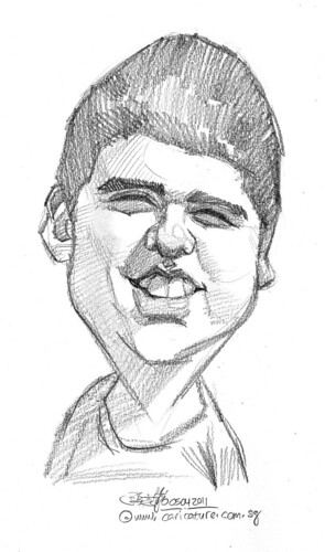 caricature in pencil - 17