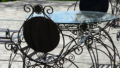 Care to join me on the terrace ? (veronix1) Tags: sun primavera soleil spring chair afternoon terrace sunday terrasse bulgaria sole sonne sedia printemps aprèsmidi dimanche chaise stuhl siège frühling plovdiv bulgarie poltrona primavara nachmittag bulgarien soare scaun dupaamiaza veronix1 okdeshoïm