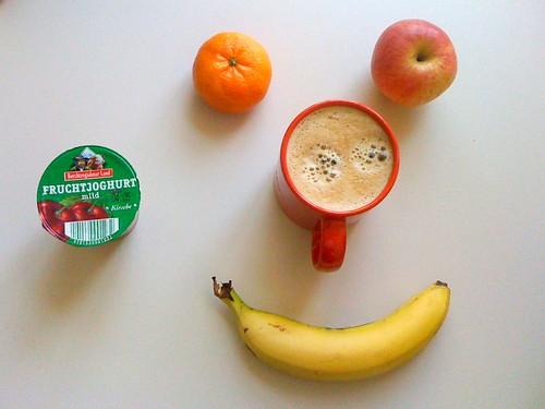 Royal Gala, Fruchtjoghurt, Banane & Clementine