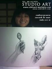 วาดเส้นมือ Hand Drawing