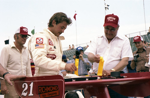 Tim Richmond at the 1980 Indianapolis 500