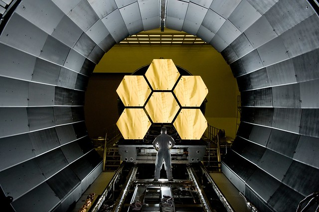 Telescope Mirror Segements (NASA, James Webb Space Telscope, 04/14/11)