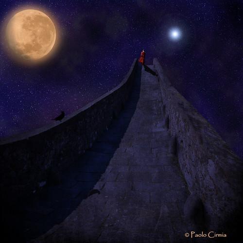 WALKING ON THE NIGHT...