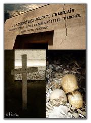 PREMIÈRE GUERRE MONDIALE (Fänfän) Tags: france trench francia trinchera verdun fänfän tranchée ltytr2 ltytr1 ltytr3