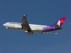 Hawaiian Airlines      Airbus A330     N380HA (Flame1958) Tags: las lasvegas 330 airbus hawaiian a330 klas 0411 airbusa330 hawaiianairlines 2011 mccarranairport lasvegasairport 150411 n380ha