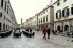 Dubrovnik: In zwei Monaten ist aller berfllt (HITSCHKO) Tags: unesco dubrovnik adria weltkulturerbe kroatien perlederadria dalmatinischekste kroatischesathen dubrovako